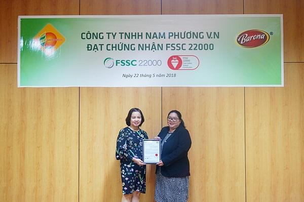 Nhiều Doanh Nghiệp Việt vinh dự đạt chứng nhận FSSC 22000
