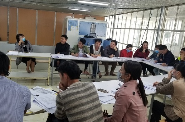 RDS Consultation - Training at Dream F Vina Co., Ltd