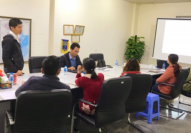 RCS Training at Dayeon Bi Jou Co., Ltd, Vietnam