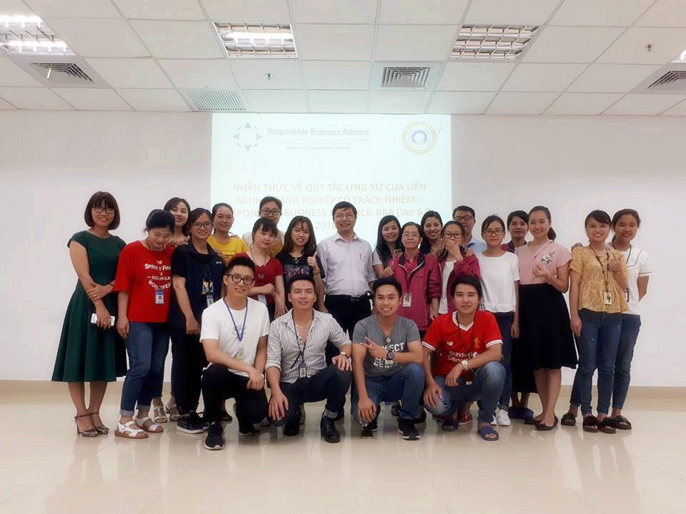 Knowledge Training and EICC-RBA Internal Evaluator for Foxconn