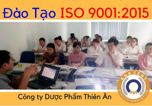 Training for Thien An Pharmaceutical Manufacturing Co., Ltd in ISO 9001: 2015