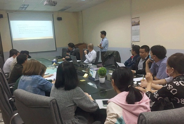BSCI Training at Samil Hanoi Vina Co., Ltd