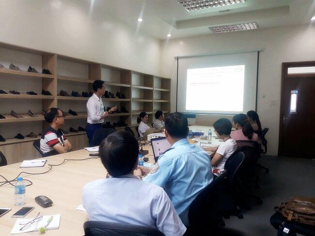 Đào tạo WRAP Chi Nhánh Công Ty TNHH Sao Vàng tại Quỳnh Phụ