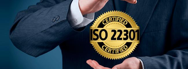 tiêu chuẩn iso 22301