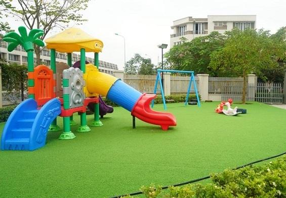 Tiêu chuẩn quốc tế về thiết bị sân chơi trẻ em có sự điều chỉnh