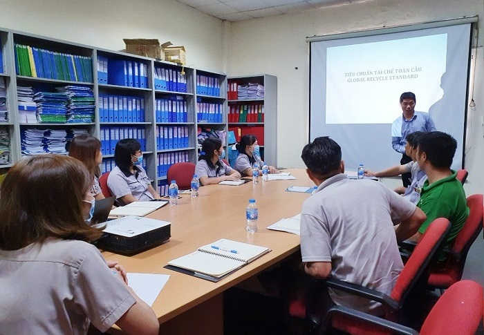 GRS Awareness Training at Ulhwa Vietnam Co., Ltd.